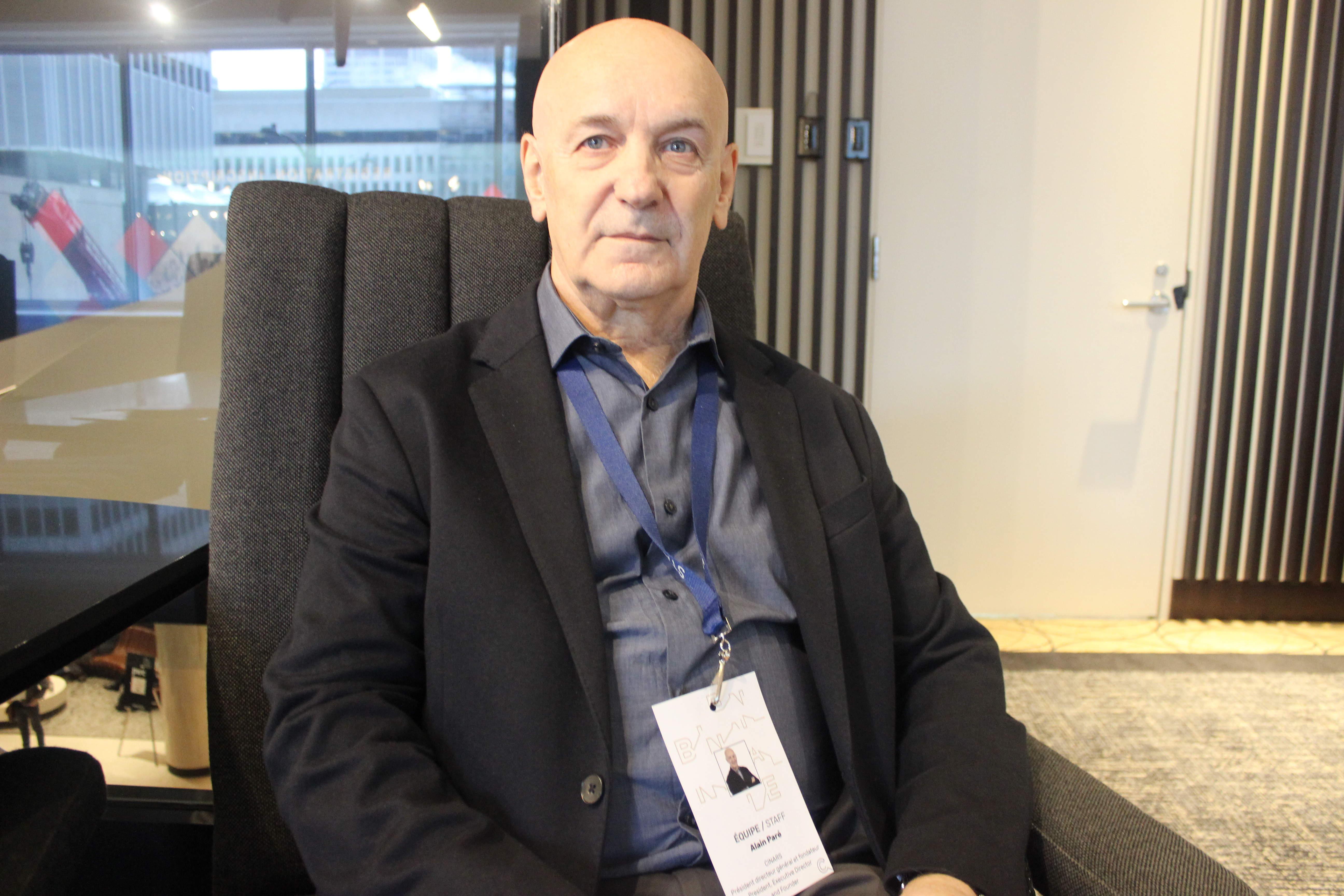 Alain Paré – PDG et Fondateur du CINARS